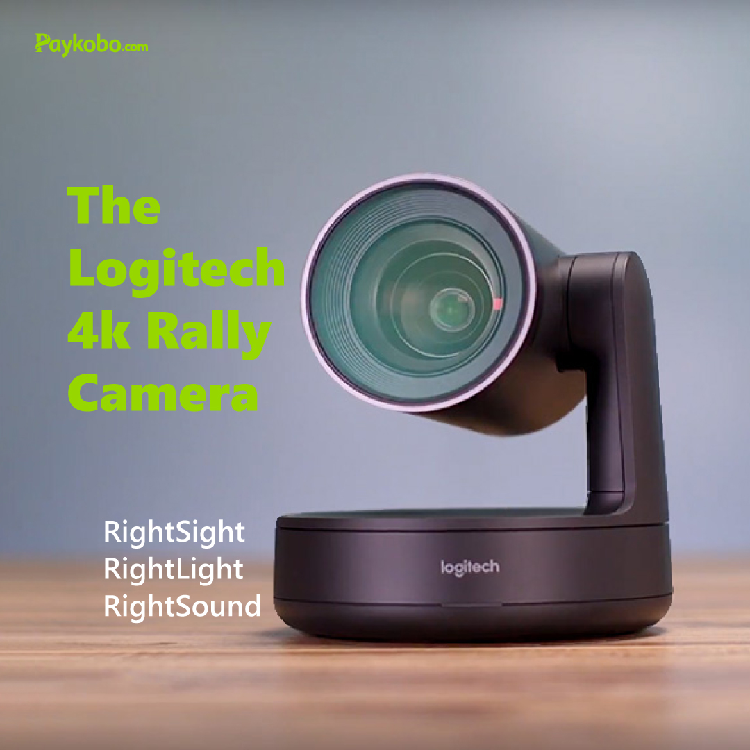 Don't worry about missing meetings during this pandemic, Get yourself a Logitech 4k Rally camera and meet with whoever anywhere in the world #staysafe #COVID19NIGERIA #LockDownLagos #LockDownNigeria #MondayMotivation #Paykobo pic.twitter.com/m6HBJP0NRH