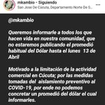 Image for the Tweet beginning: Aviso de MK a través