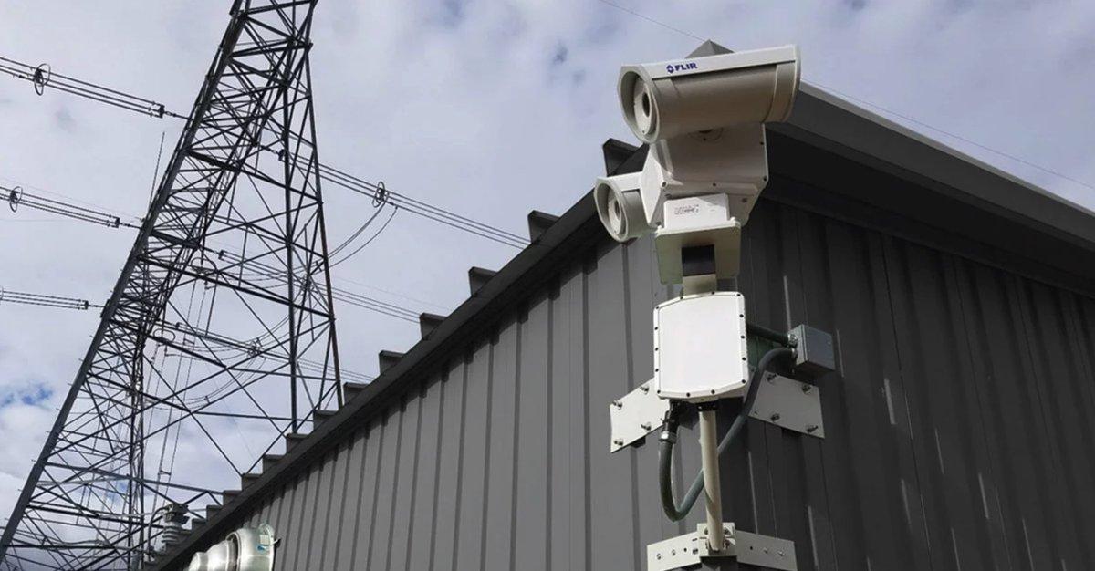 #FLIR pan tilt cameras deliver superior perimeter detection for remote electrical sub stations - read more: https://bit.ly/2VJA0h4