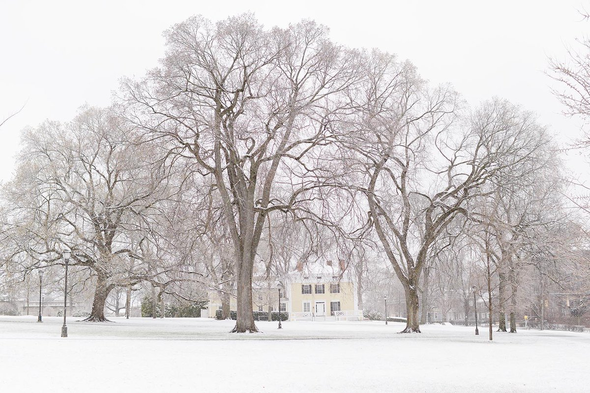 test Twitter Media - Snow covered our campus today as we transitioned into our first day of online instruction: https://t.co/oqoUOJrG1Y  #WesleyanUniversity https://t.co/Y0Q8cAtmPX