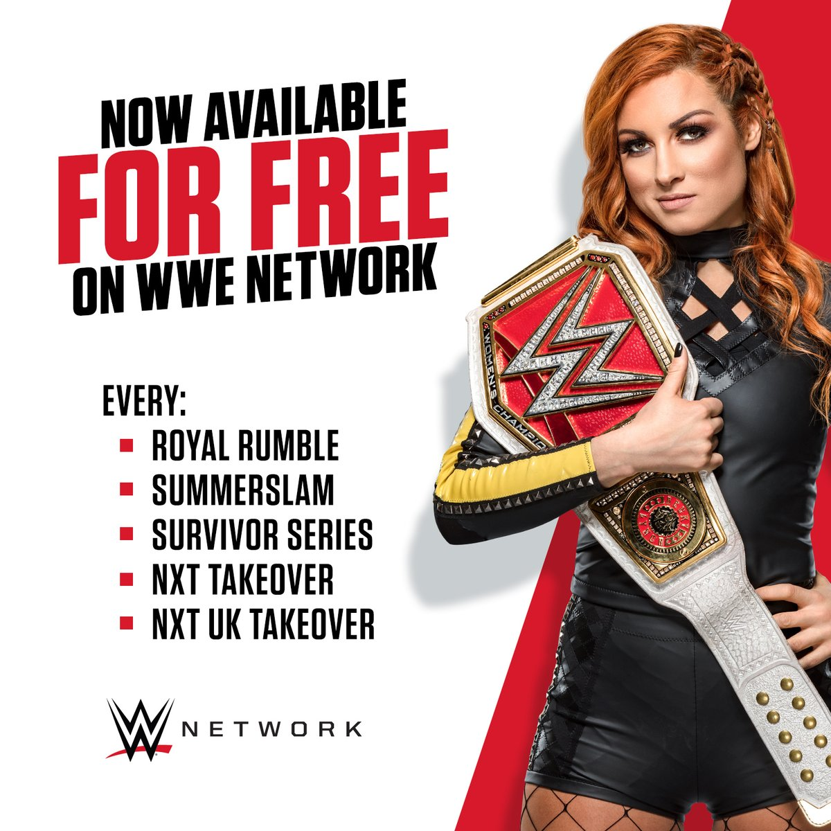 Network up wwe sign Be aware