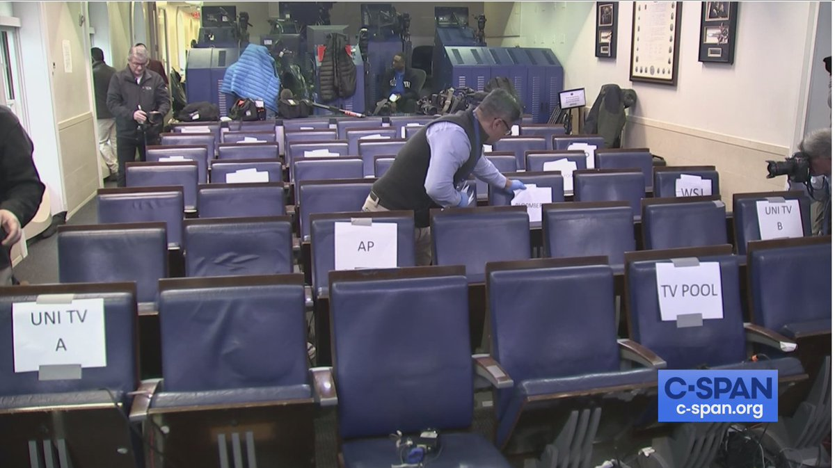 Howard Mortman On Twitter New Wh Press Corps Briefing Room Seating Re Org Whca Has Just Changed The Seating Chart Again Providing More Space Between Reporters Following Word That A Unnamed Whca Member