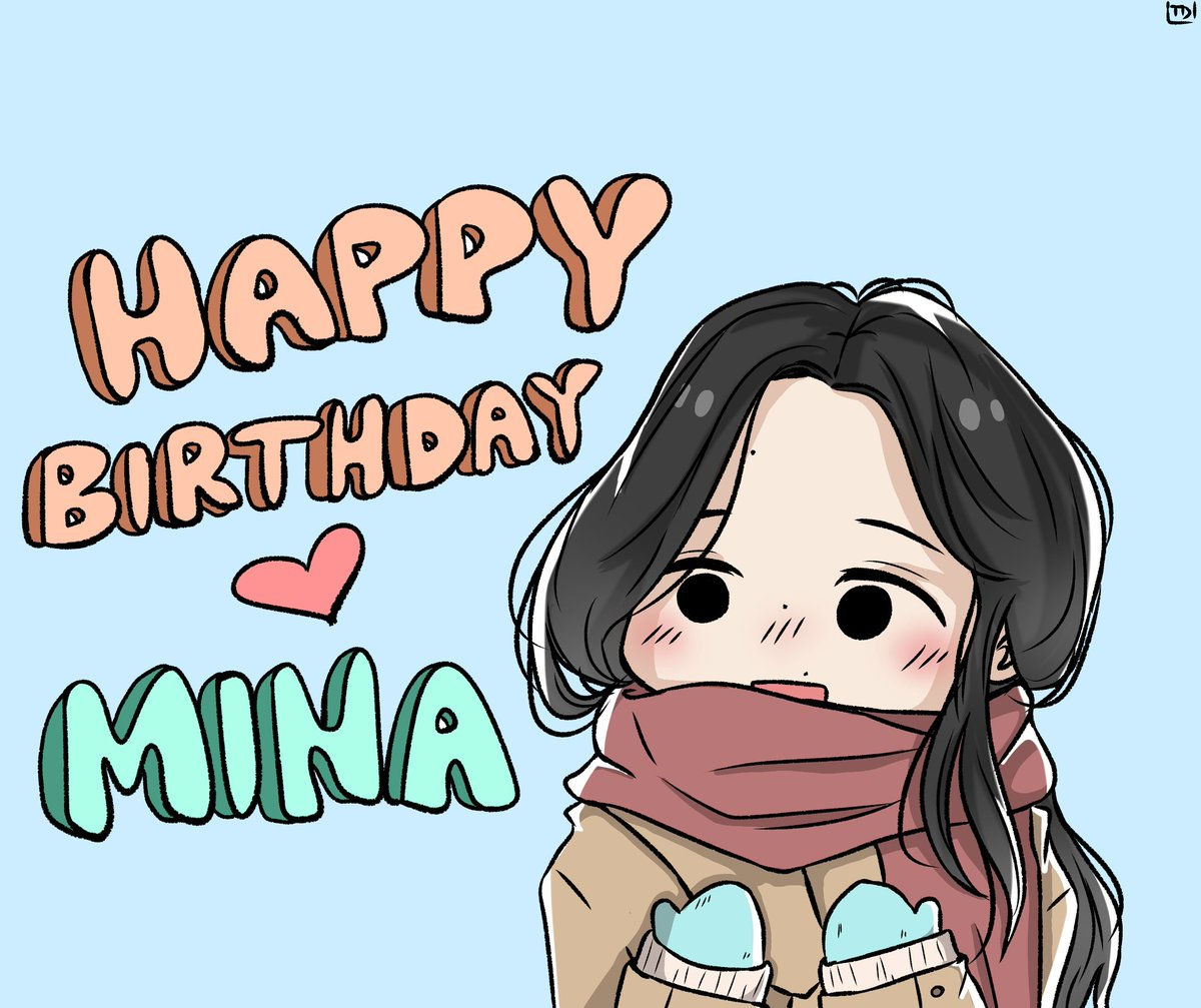 Happy Birthday to this beautiful, kind and strong baby right here! J love you so much 🥺❤ #HappyMinaDay #AngelMinaDay