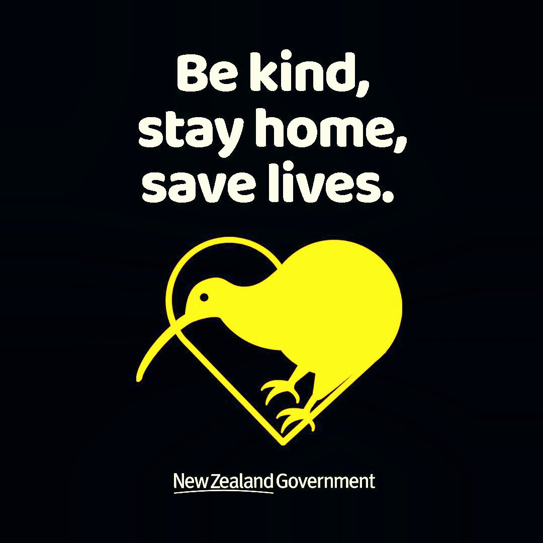 Be kind, stay home, save lives 💛
