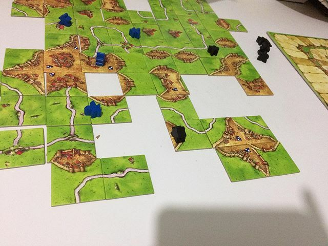 #carcassonne #boardgames #jogosdetabuleiro #coronalockdown #quarentena #fiqueemcasa #stayhome https://ift.tt/2UbG0xNpic.twitter.com/MPDSy8Ud92