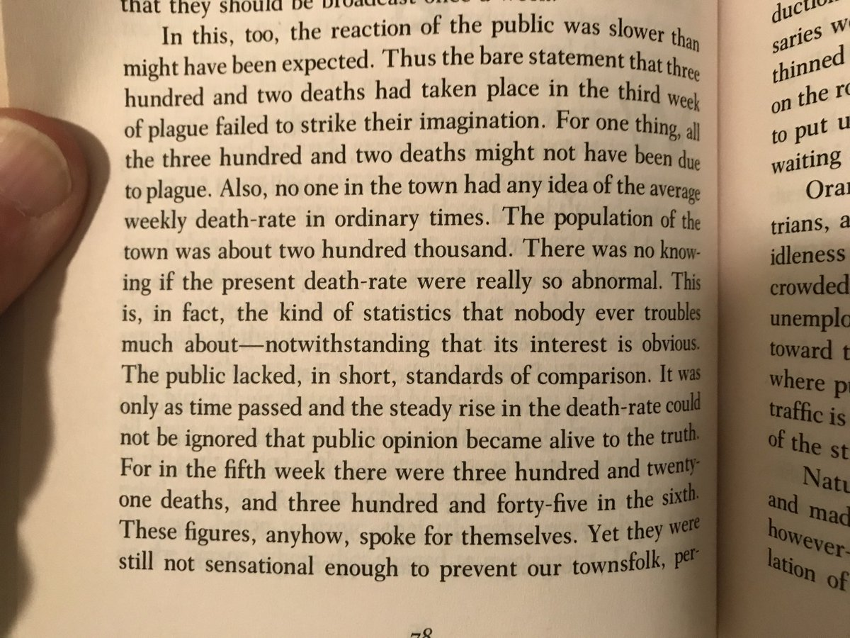 "Albert Camus, ""The Plague."""