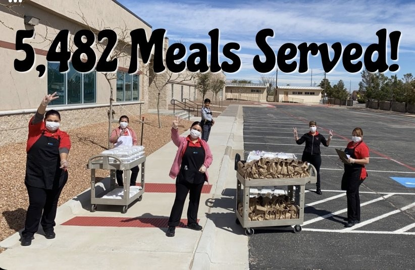 Our #WEARECLINTISD Child Nutrition and Transportation staff provided 5,482 meals for our students today! If you picked up a meal, provide us your feedback. Let us know if you have any questions or concerns.