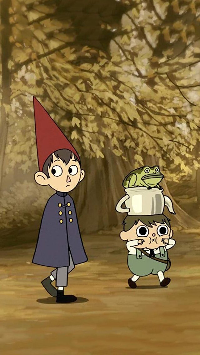 I have finished Over The Garden Wall and it's pretty much my new favorite thing in the universe.