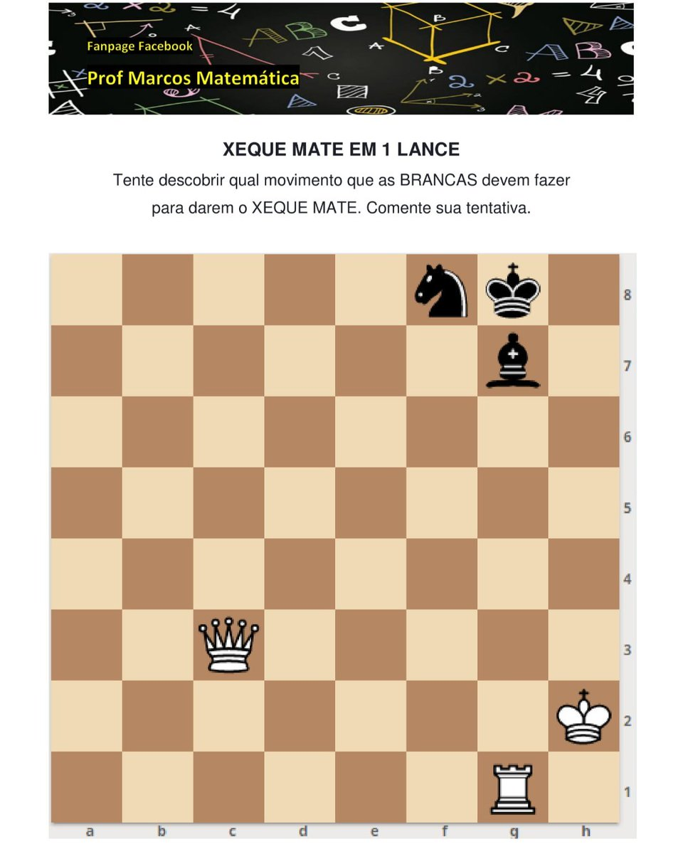 DESAFIO 31 – POLGAR #XadrezBrasil #XadrezEscolar #XadrezPedagógico #CEVicenteJannuzzi #Embaixadornamídia #chess #xadrez #jogoxadrez #chequemate #games #jogos #jogosdetabuleiro #concentracao #brasil #inteligencia #estrategia @SusanPolgar @fexerjpic.twitter.com/cbYJpV7mJW