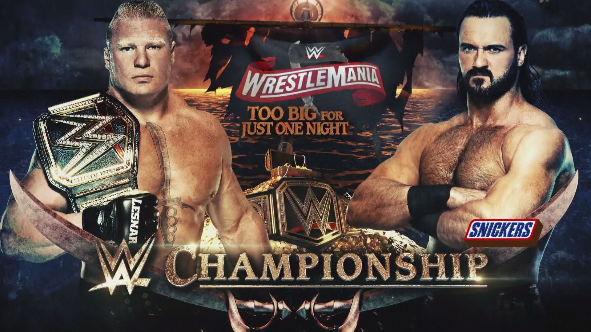 WWE Title Match Result To Be Affected By Wrestlemania Venue Change 1