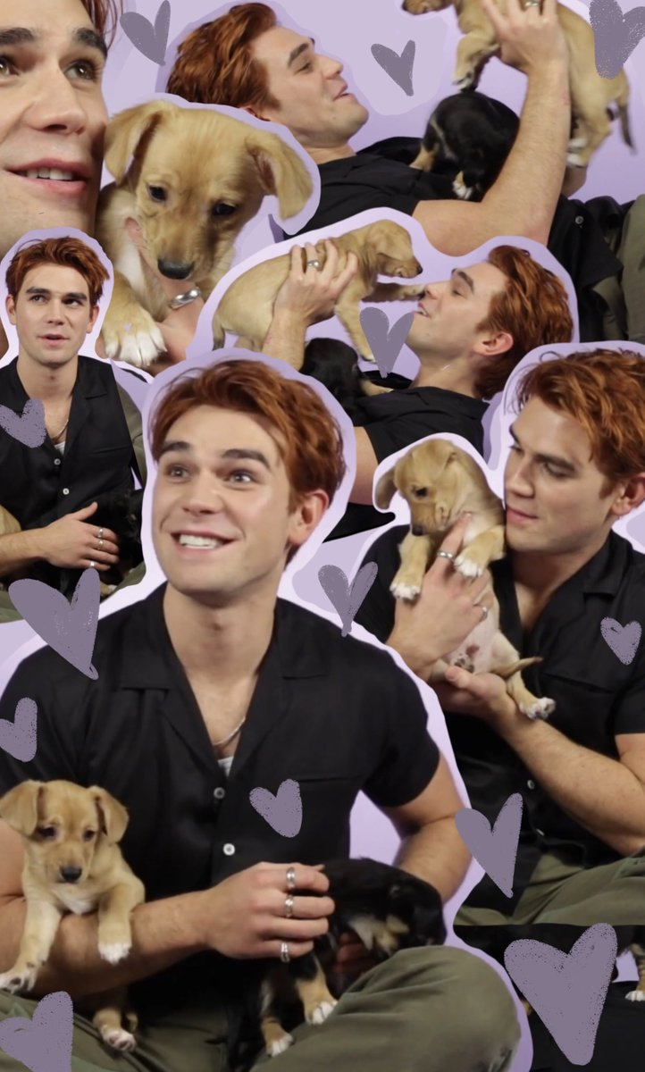 We can't think of a better way to celebrate #NationalPuppyDay 🐶 @kj_apa youtube.com/watch?v=647AHR…