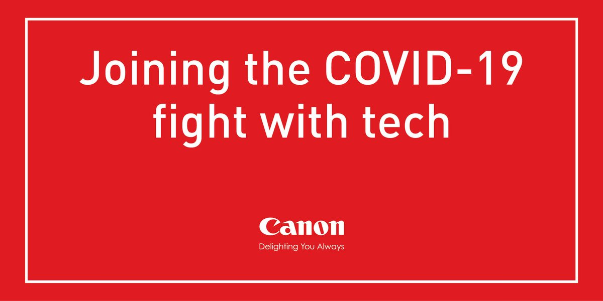 In cooperation with other organizations, Canon companies in Japan and China are harnessing technology to take down #COVID19. #kyosei https://t.co/fyYR1eD7t7