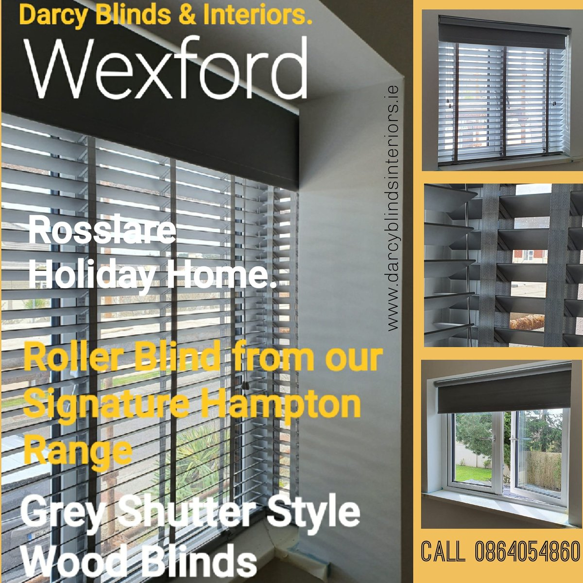 Darcy Blinds & Interiors,  Rosslare holiday home gets star treatment from Darcy Blinds,  All Areas of Wexford covered. Best prices  #greywoodblinds  #woodblinds #realwood #FamilyBusiness #romanblinds #StayAtHomeSaveLives. #asktheexpertpic.twitter.com/E6AbKlNUzB