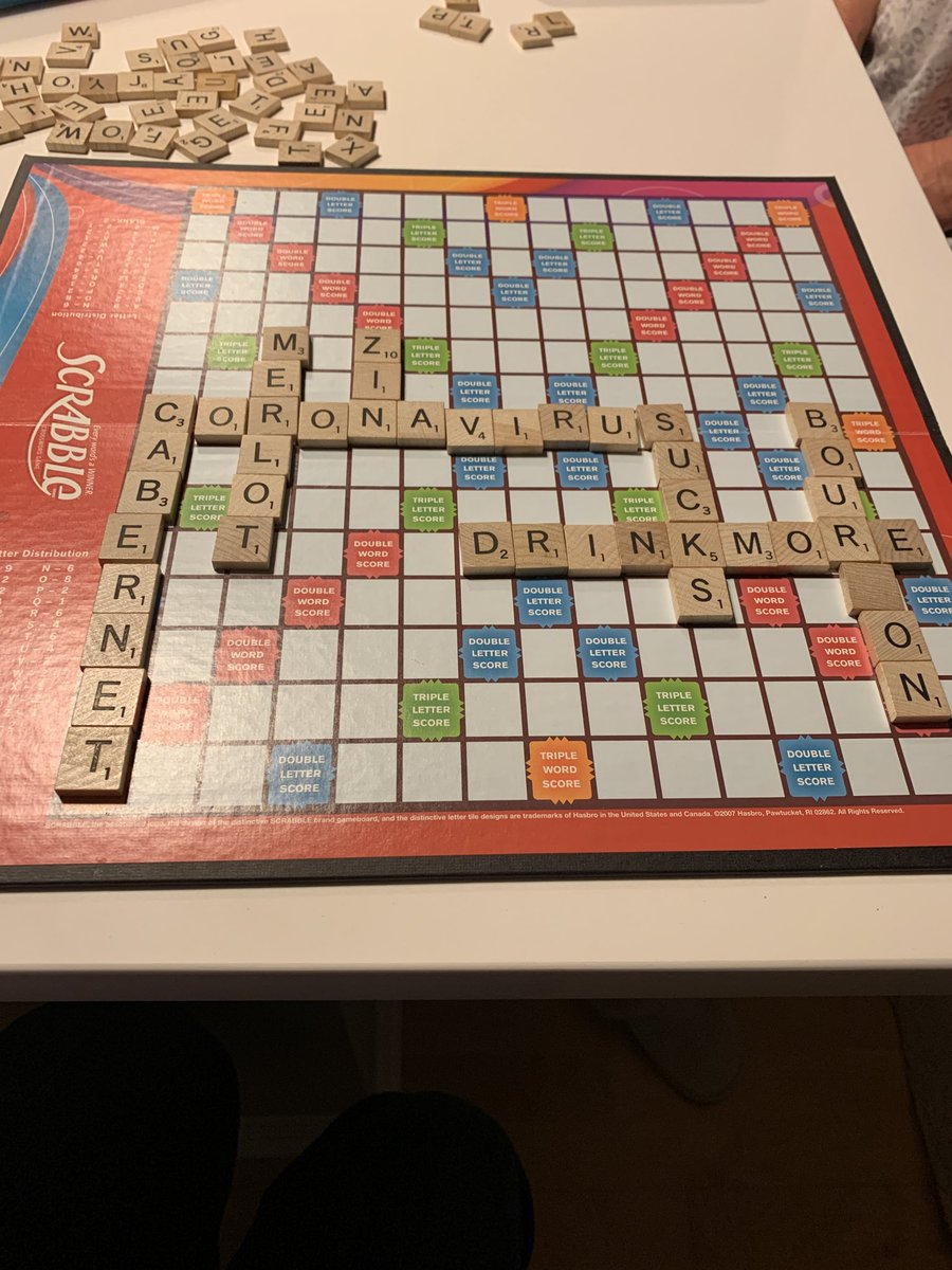 Great scrabble game tonight! https://t.co/S8VolSXBAc
