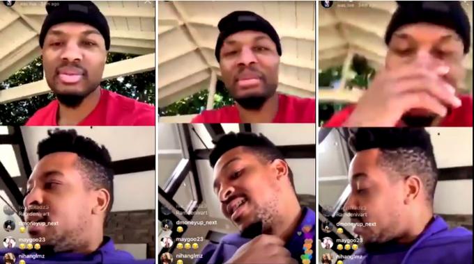 【影片】Lillard笑的止不住!CJ直播一言不合就開車:大家都說我的鬍子像極了Murray!-Haters-黑特籃球NBA新聞影音圖片分享社區