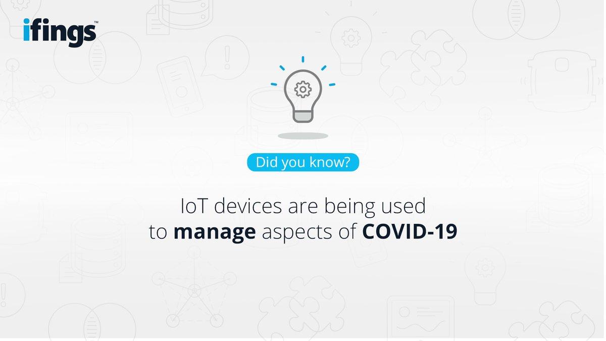 Did you know? #COVID19 #COVID19inSA #COVID19SouthAfrica #CoronaVirusSA #IoT #InternetOfThings #WednesdayWisdom #DidYouKnow #Industry40 #ArtificialIntelligence #futureofwork #ifings pic.twitter.com/SuaA3P0RiD