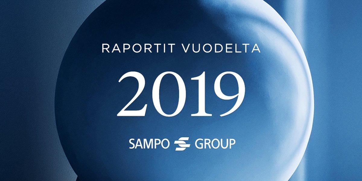 Sampo-konsernin toimintakertomus ja tilinpäätös vuodelta 2019 ovat julkaistu osoitteessa sampo.com/vuosi2019
