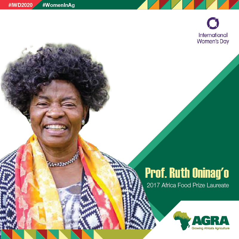 'I support women in #ag & advocate for them to be able to build their confidence, put their heads up & be proud to acknowledge that without them, the world would not exist. Women move things, women feed us & women make all of us look good'-Prof. @RuthKOniango #IWD2020 #WomenInAg https://t.co/sXch41j3Yj