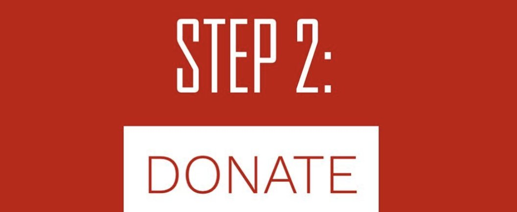STEP TWO: DONATE: Venmo $2 or more to @PartnersRelief or give at partners.ngo #stronger2getherchallenge