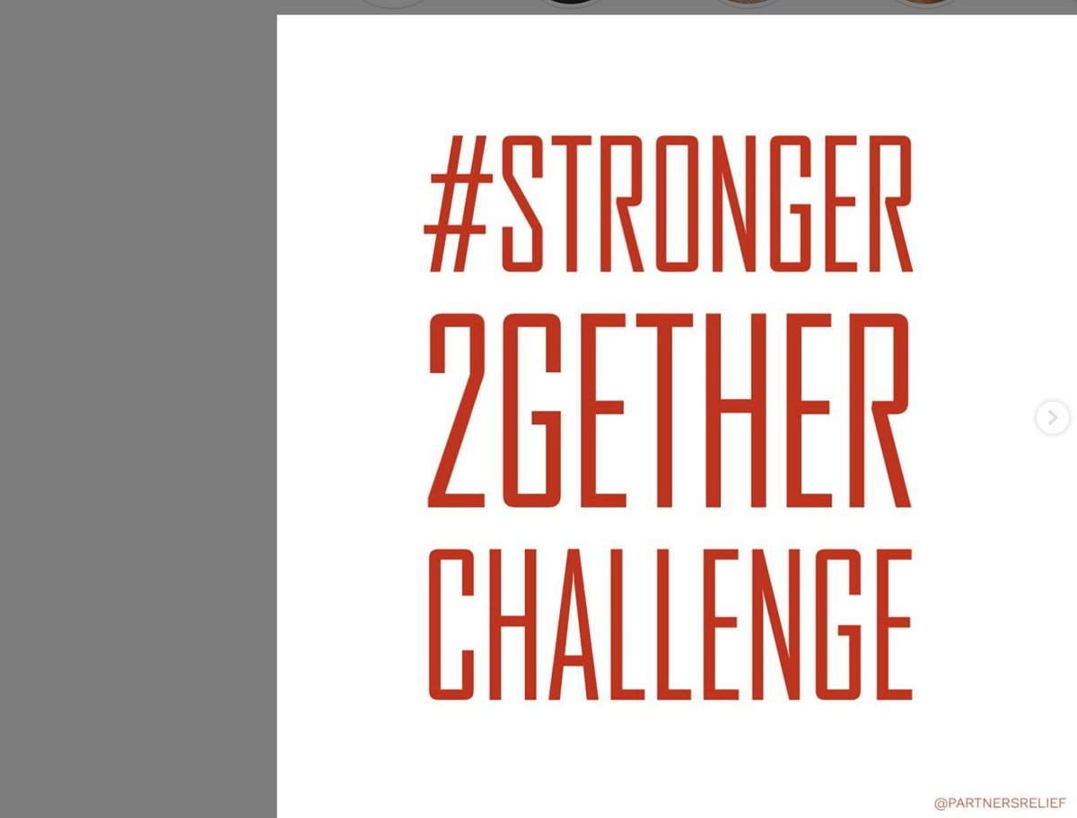 STEP FOUR: Tag 5 friends to nominate them for the challenge #stronger2getherchallenge