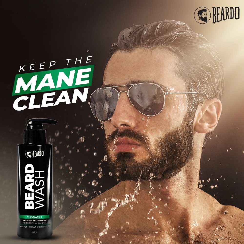 To make it look posh, don't forget to wash 😉 Get it from here 👉🏻 https://t.co/OvhdPQZCbv  #HelloBeardo https://t.co/FbaiLnLPCM