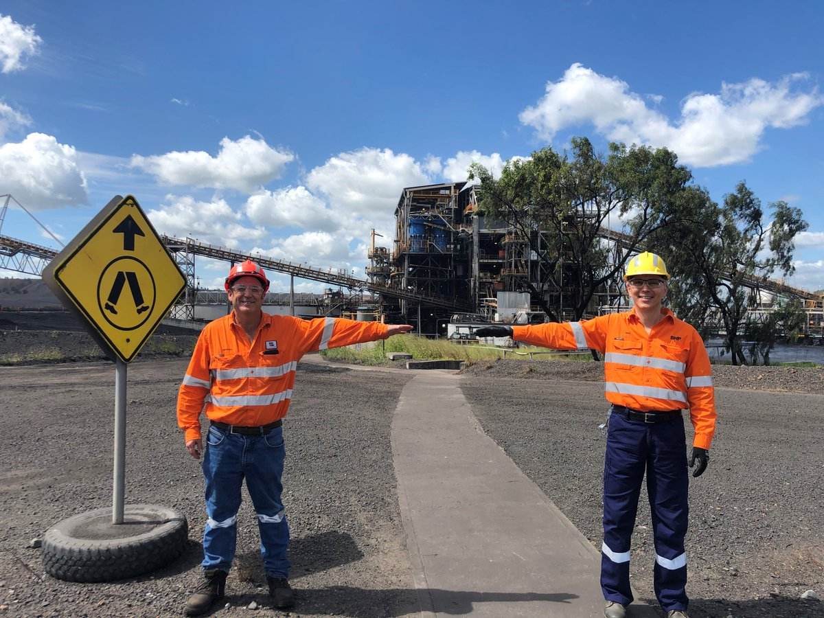 Our CEO, Mike Henry, was on-site at our Peak Downs mine in Queensland yesterday, to check in on the teams and the measures they are taking to keep themselves and the communities around them safe and healthy, including two-arm length distancing. https://t.co/rb9CpVCZjP