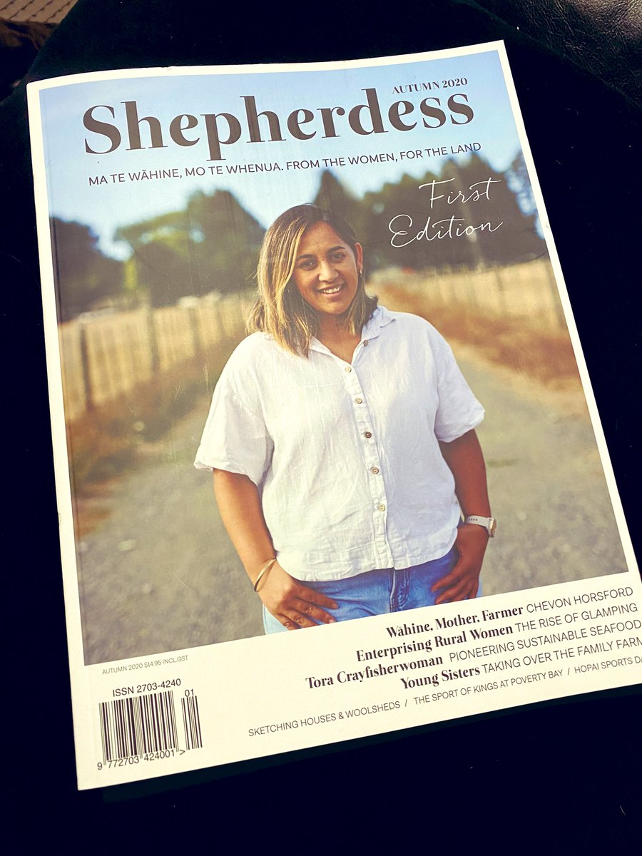 Finally found a moment to flick through this treasure and I'm blown away. Massive congratulations to @kristy_mcgregor and the team, I'm truly in love, what an exceptional publication, hats off to you, can't wait for the next! #shepherdess pic.twitter.com/VLqru9cITb
