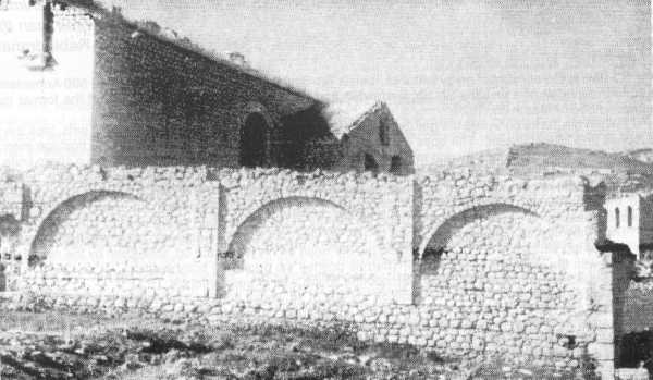 During the #Armenia'n massacres in #Shushi, #Azerbaijan'i Tartars destroyed cultural sites of #Karabakh as http://well.St  Astvatsatsin church,built in 1822 by resettlers from Agulis #Nakhijevan, the 1st& biggest church at the time, was razed to the ground. #Shushi100pic.twitter.com/PkoNfewPWU