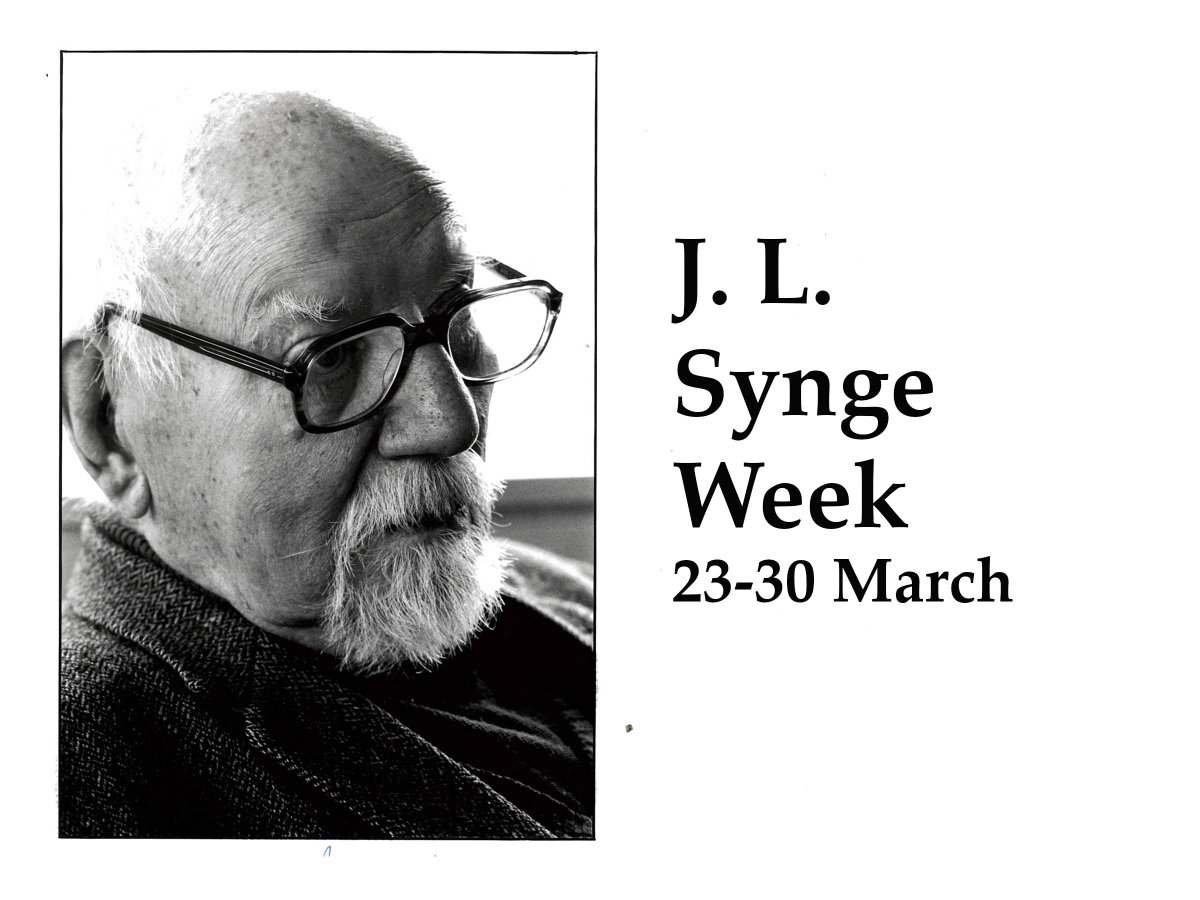 test Twitter Media - #SyngeWeek part 2 is coming this evening. This will cover his University years.  J.L. Synge, an Irish mathematician & physicist, whose seven decade career included significant periods in Ireland (& DIAS) Canada, and the USA.   Part 1 ➡️  https://t.co/9t0T6g9YpV  #DIASdiscovers https://t.co/lE3FSwE6Og