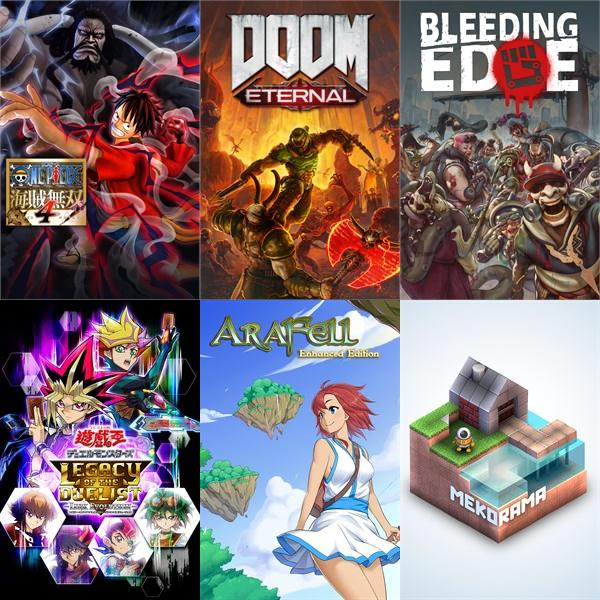 test ツイッターメディア - 【2020年3月第4週】 今週発売予定の #XboxOne▼ダウンロード専用タイトル・ライフ イズ ストレンジ 2・ONE PIECE 海賊無双4・DOOM ETERNAL・Bleeding Edge・エアラフェル・メコラマ#XboxOne #Xbox https://t.co/cPdBhDDghJ