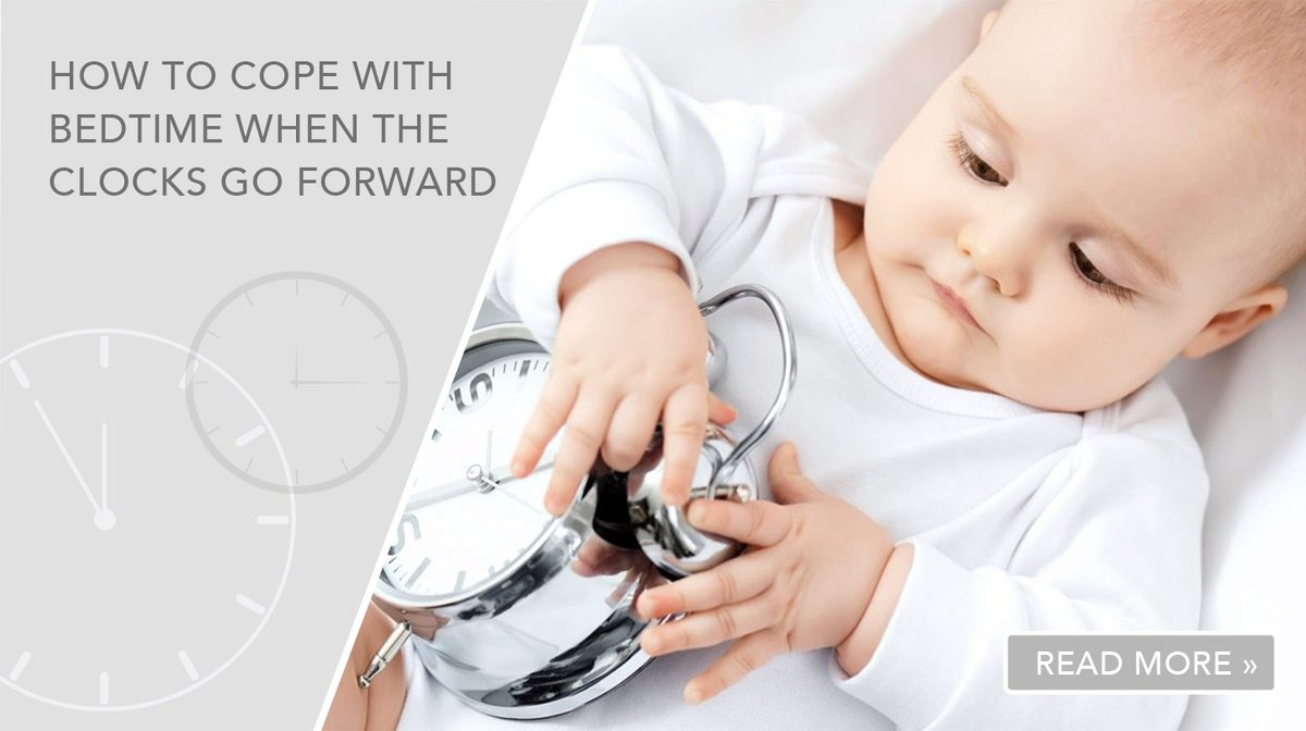 Check out our latest blog post for tips on managing your baby's bedtime when the clocks go forward>> https://bit.ly/3bkfF6j  Don't forget to use the code SAVE15 to save 15% on all products including #SALE! #MumBlog #Springtime #DST #DaylightSavingTimepic.twitter.com/DfcFY4qBAW
