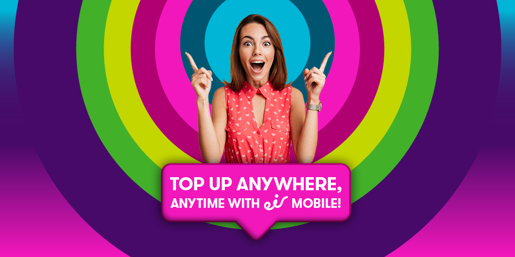 Eir On Twitter Topping Up With Eir Mobile Has Never Been Easier Simply Freephone 1740 Visit Https T Co Ohmuveieih Use Your My Eir Account Or Simply Schedule A Regular Top Up So You