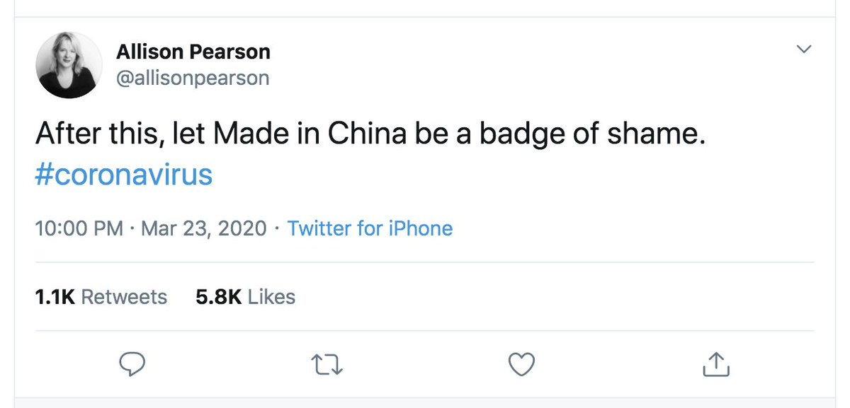 Imagine being Allison Pearson and tweeting this. From your iPhone.