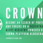 Image for the Tweet beginning: #CrownEmerald has been activated💎  The #CrownPlatform