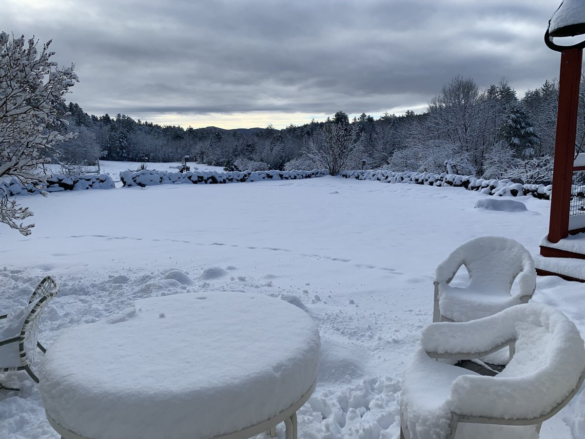 Spring in NH. I was looking forward to Hawaii today. I guess that ends the tour for #DoMoralsMatter?