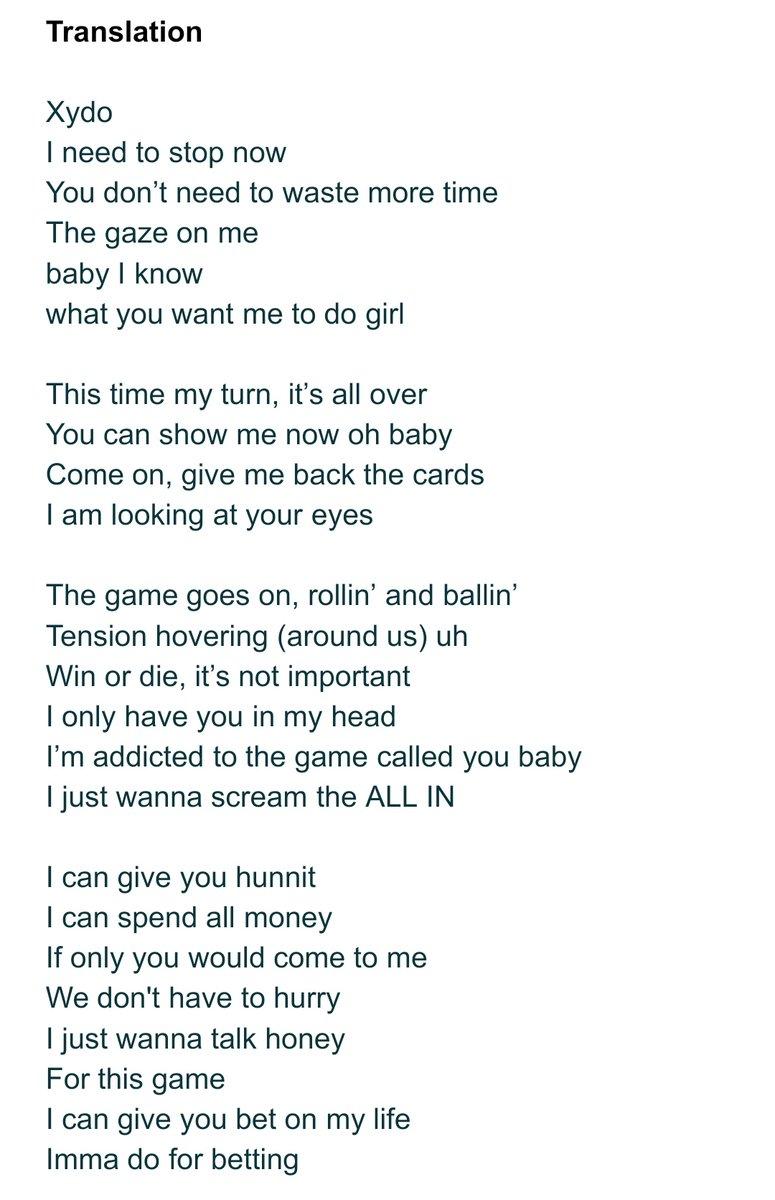 Lyrics for bet on it comment acheter des bitcoins avec paypal