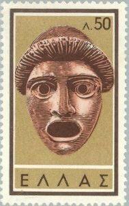 Màscara grega. Segell