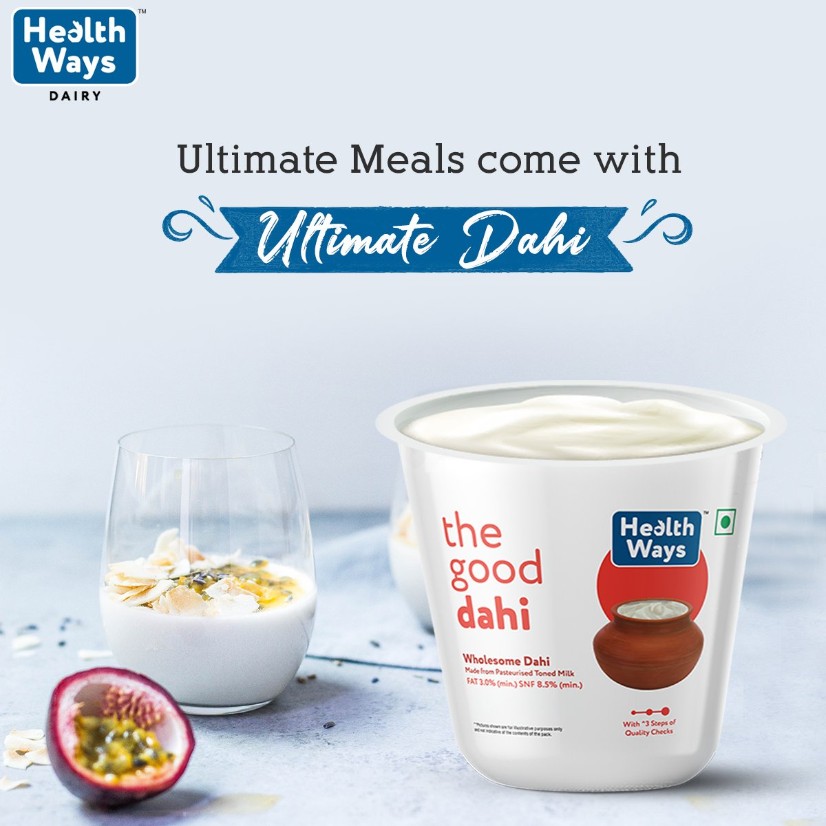 How about healthy paranthas with your favourite dahi next to it?  Visit:  http://bit.ly/2lc20JC    #HealthwaysForYou  #Wholesome  #Dahi  #milkproducts  #curd  #healthyeating  #healthyliving  #wellness  #wellbeing