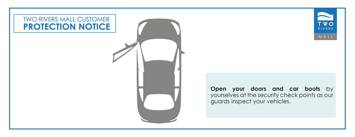 As you shop with us, we prioritize the health and safety of you and your loved ones. During the security check open your doors and car boot as our guards inspect your vehicles. Join us as we work together to fight the spread of COVID-19 #WeCareForYou