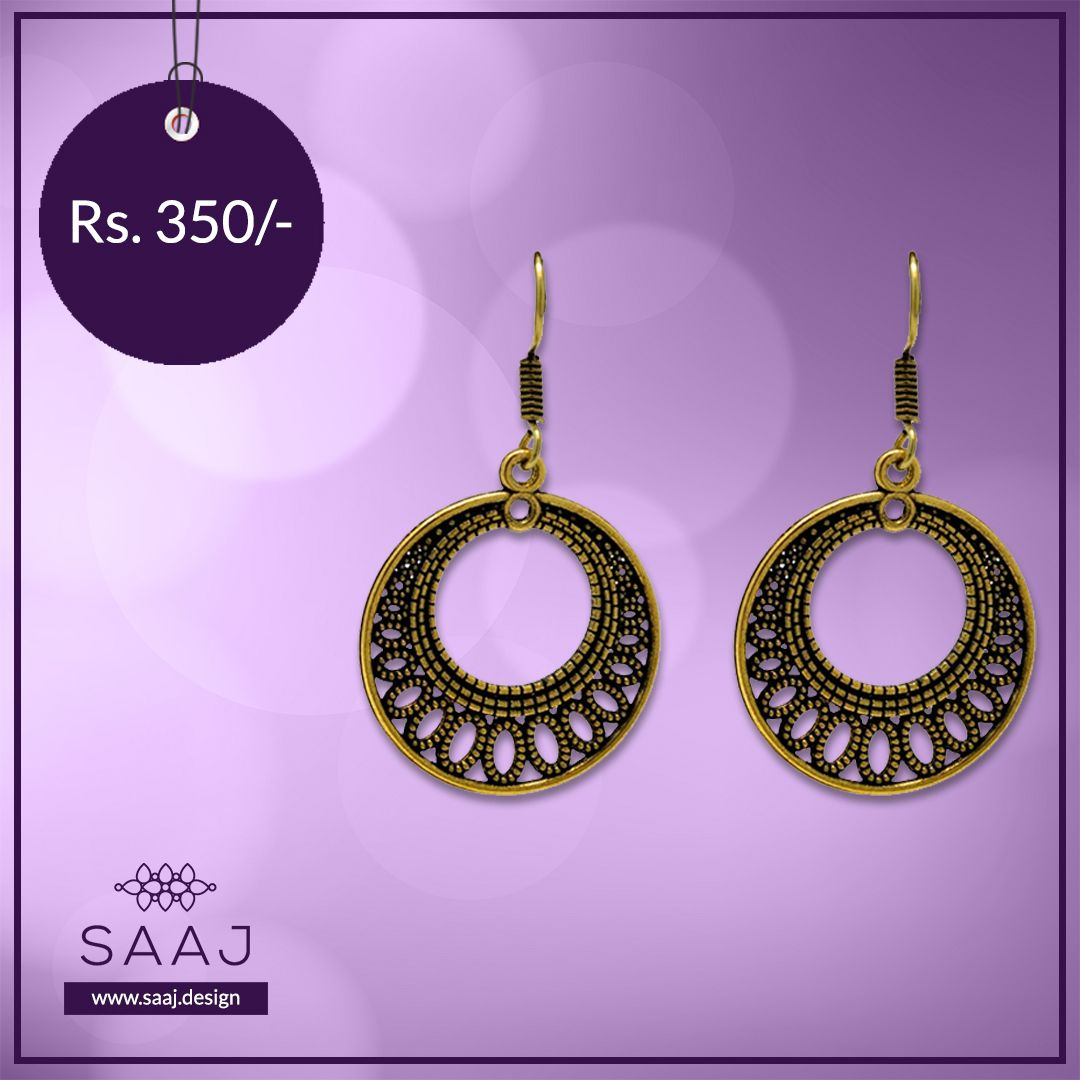 GOLD OXIDISED RING EARRING at Rs. 350.00⠀ https://buff.ly/3bqjVkX .⠀ .⠀ .⠀ .⠀ #Earrings #EarringLove #EarringLovers #TraditionalEarrings #EarringSale #EarringsAddict #OxidisedJewellery #OxidisedEarrings #OxidisedEarring #OxidisedEarringsIndia #OxidisedEarringwithJhumkispic.twitter.com/lmfwnTZYFG