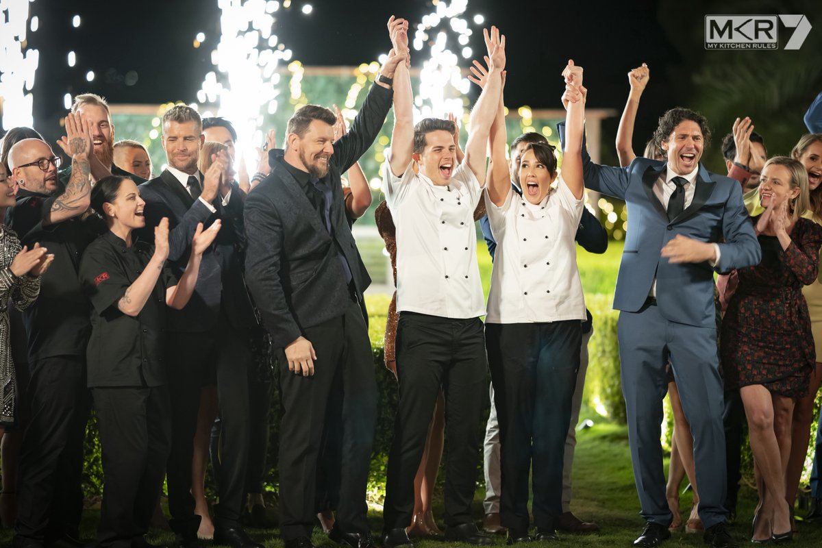 Say hello to your 2020 #MKR Champions! 👏🎉 https://t.co/WREQ5aTnoU