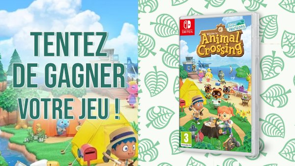Un peu de gaieté dans ce contexte morose ! Nous vous proposons de gagner votre jeu #AnimalCrossingNewHorizons ! RT & follow @Micromania_Fr, tirage au sort lundi prochain ! https://t.co/jrOjn6yLmk