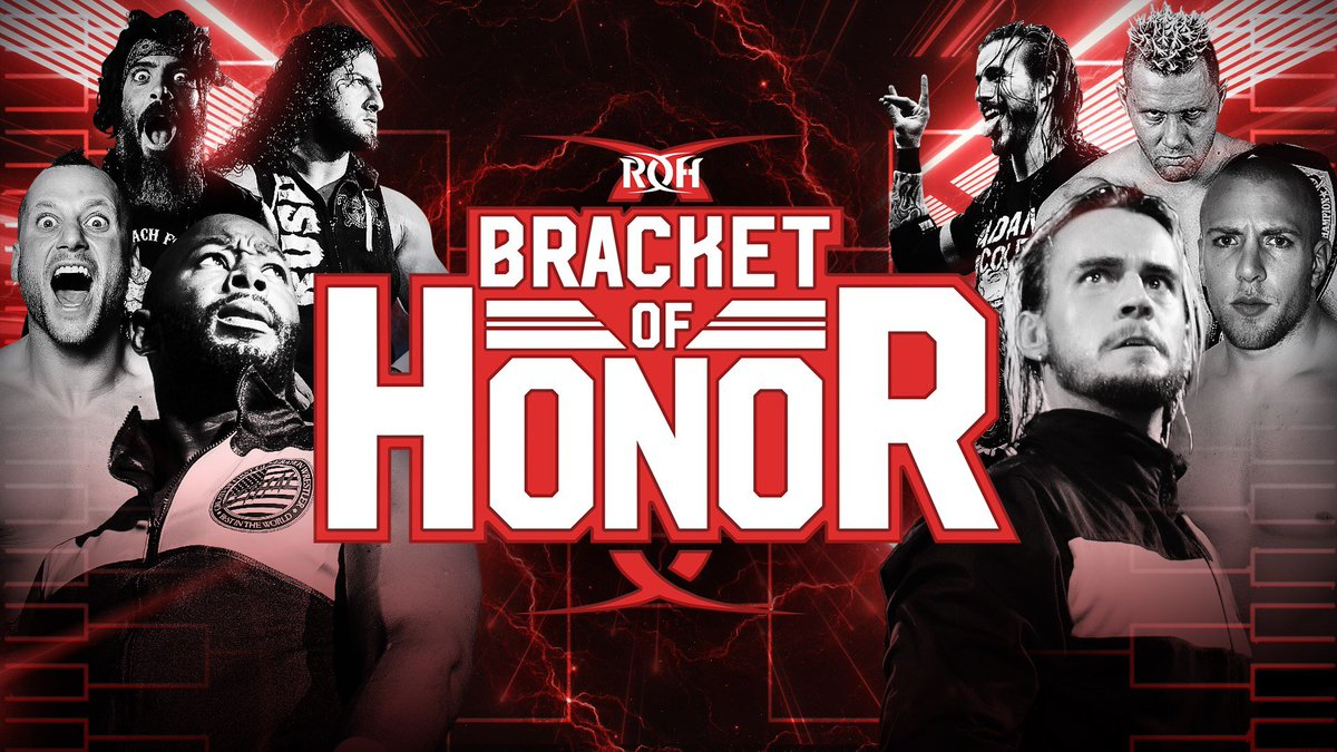ROH Announces Online Bracket Of Honor Tournament, Anthem Names New Fight Network General Manager