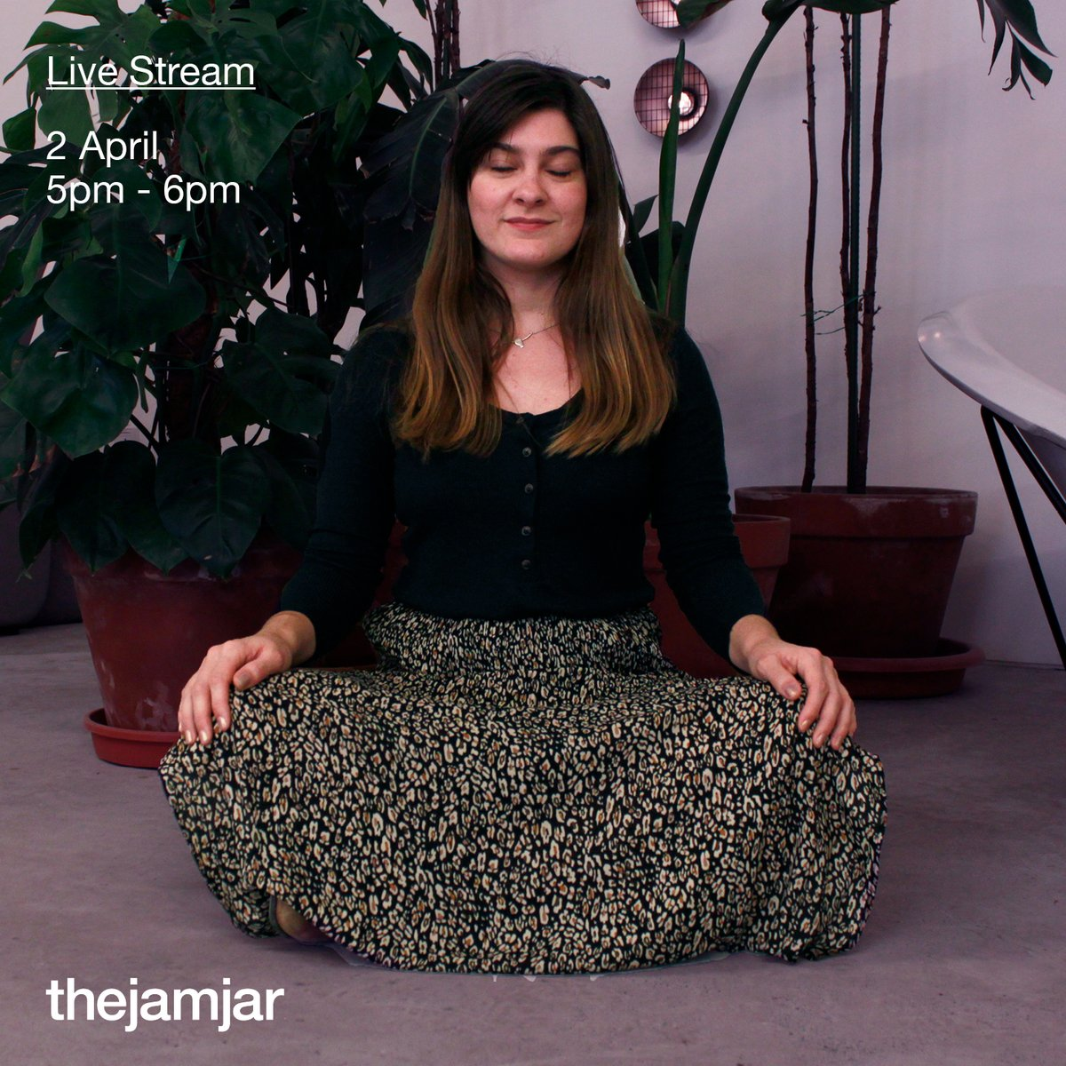 Tune into our live meditation conducted by certified thetahealer, Victoria Parrucci! Using the ThetaHealing® technique, you will learn to let go of the negativity. All ages are welcome! . To learn more about ThetaHealing®: http://www.thetahealing.com/ . #thejamjardubai  #dubai #uaepic.twitter.com/m8xgX0sAFb