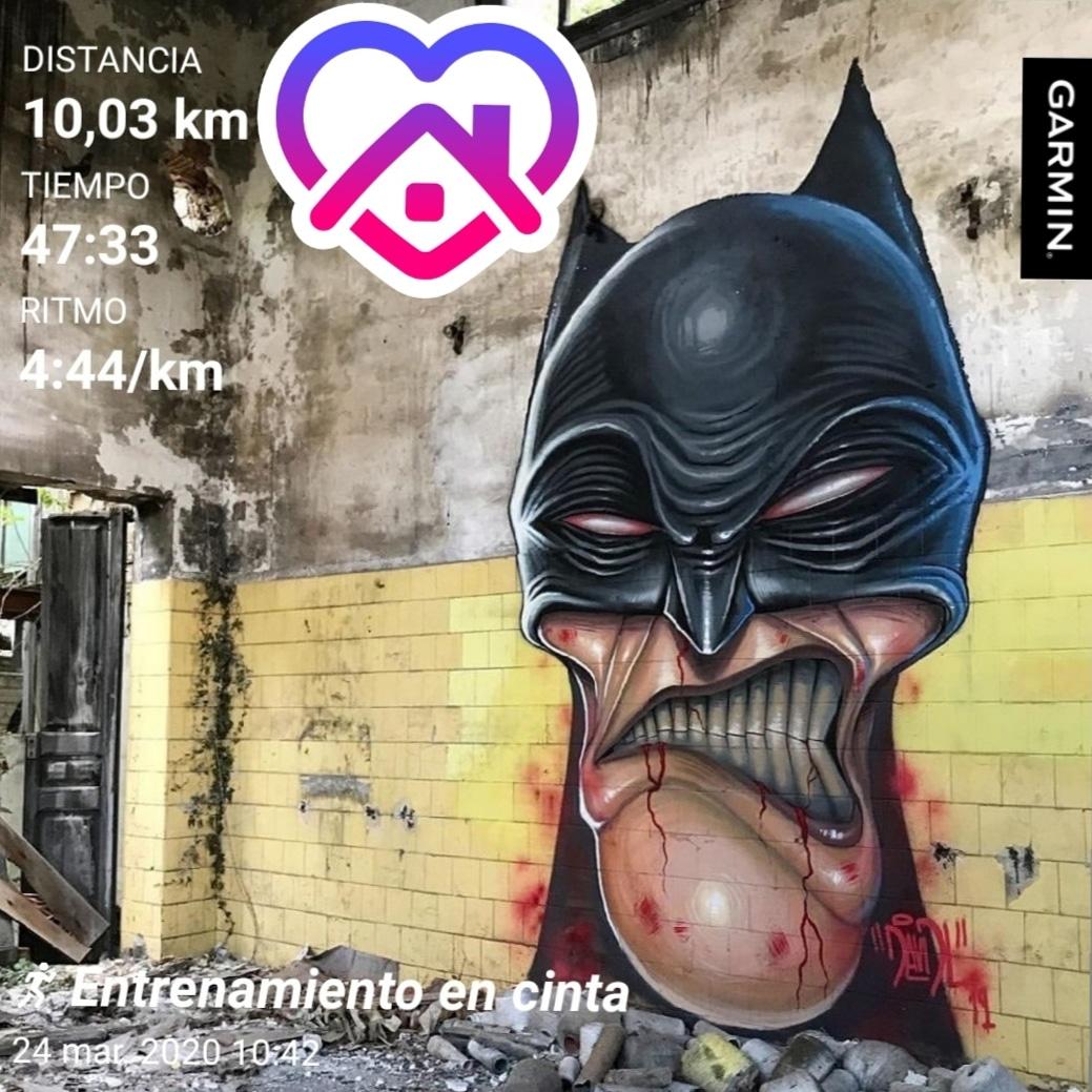 Otro día más sumando kilómetros en casa. #yoelegicorrer #nikerunning #soyrunner #soycorrerdor #garmin #garminau #garminvivoactive3 #vivoactive3pic.twitter.com/fBzOrOYNlI