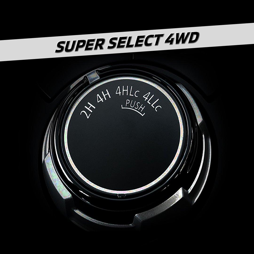 Menempuh berbagai medan bukan masalah untuk Mitsubishi Pajero Sport, dengan Super Select 4WD tinggal pilih mode berkendara sesuai medan yang akan dihadapi.  #MitsubishiMotors