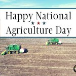 Image for the Tweet beginning: Happy National Ag Day!  #ProudToFarm