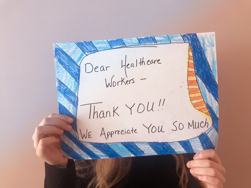Thank you for your services!! NYC is so grateful to you.  A sign from my daughter.pic.twitter.com/igQIZQMU76