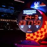 東京駅のオリンピックのカウントダウン時計、普通の時計になる!
