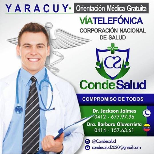 Jodedores! en #CondeSalud estamos activos en: #Yaracuy #Portuguesa #NuevaEsparta #Bolivar sumando por #Venezuela https://t.co/h5DTzzr3JS